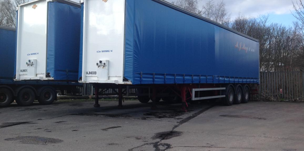 New trailers for our general haulage services